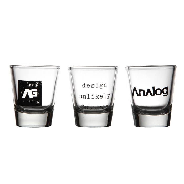 Analog - Salute Shot Glasses - 3 Pack