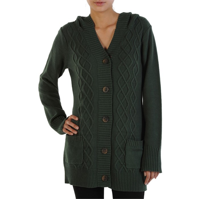 Volcom - Lust & Found Cardigan Sweater - Women's
