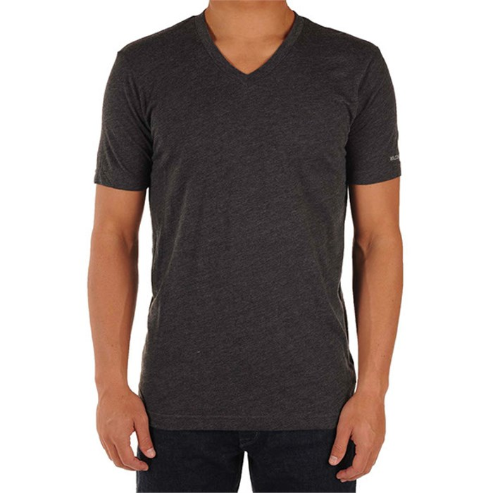 Volcom - Solid Heather Too V Neck T Shirt