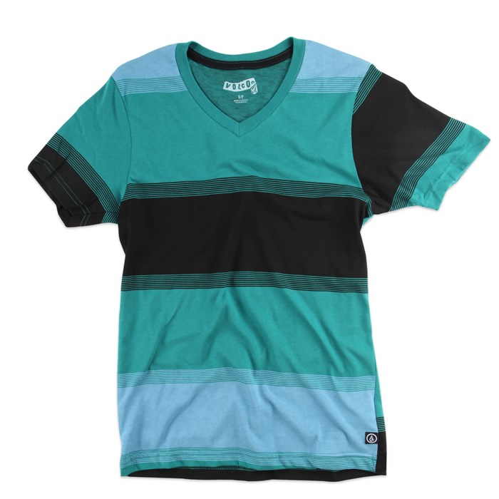 Volcom - Railway V Neck T Shirt