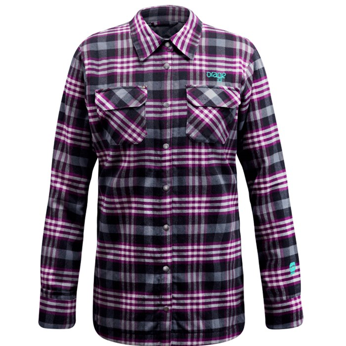 Orage - Blueberry Quilted Shirt - Women's