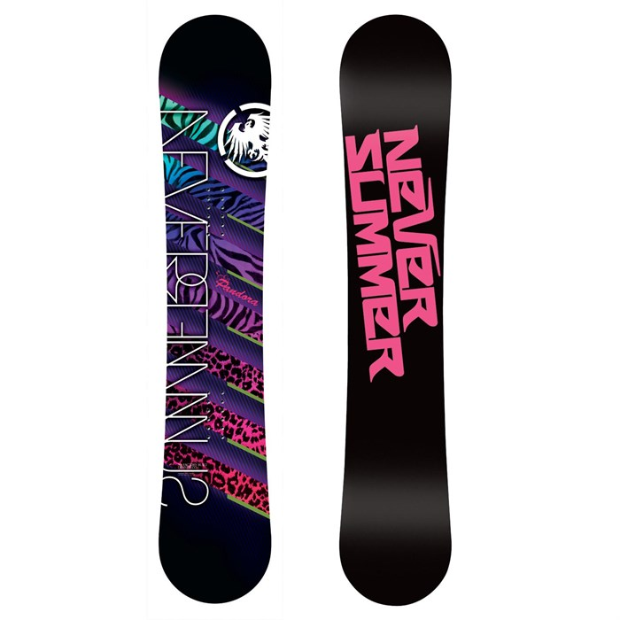 Never Summer - Pandora Snowboard - Women's - Used 2012
