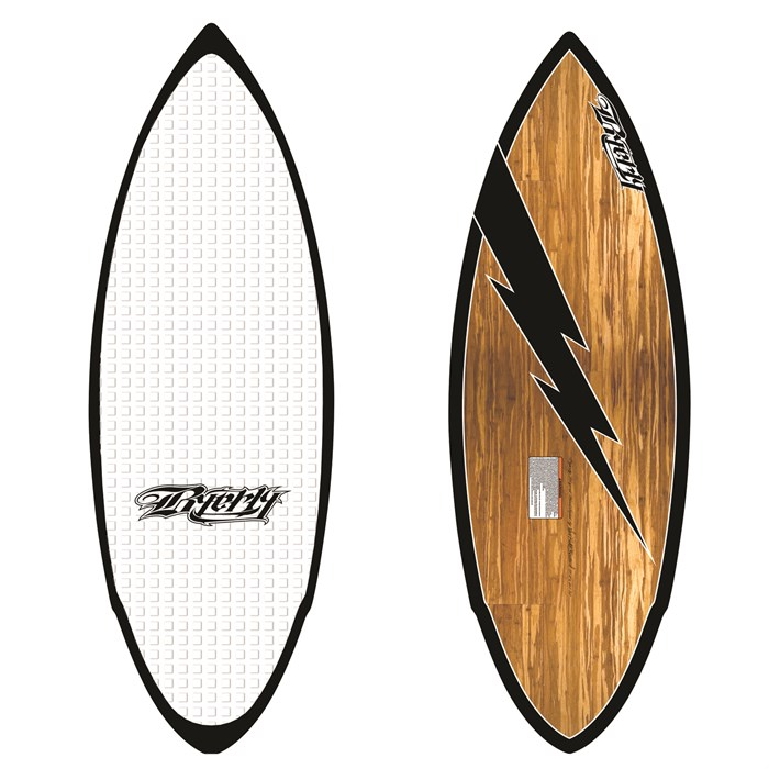 Byerly Wakeboards - Hazard Wakesurf Board - Demo 2012