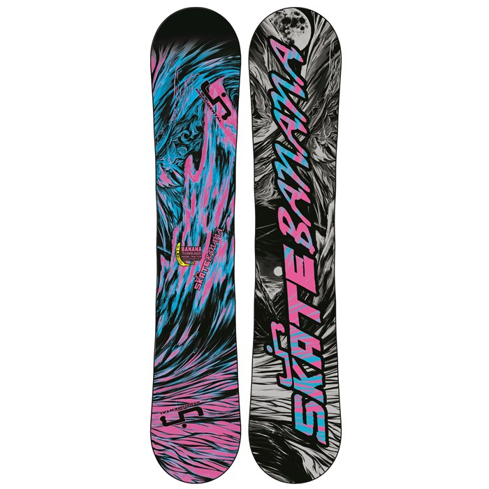 Lib Tech - Skate Banana BTX (Blue/Pink) Narrow Snowboard 2013