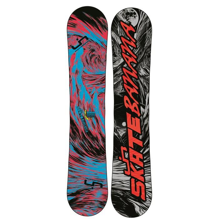Lib Tech - Skate Banana BTX (Red/Blue) Narrow Snowboard 2013