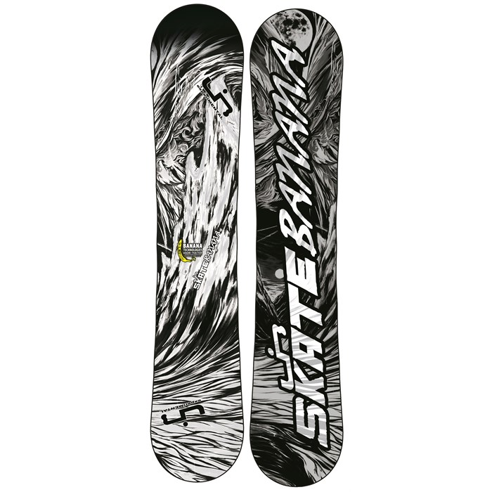 Lib Tech - Skate Banana BTX (Black/White) Snowboard 2013