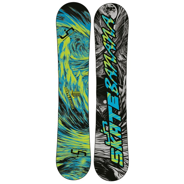 Lib Tech - Skate Banana BTX (Blue/Green) Narrow Snowboard 2013