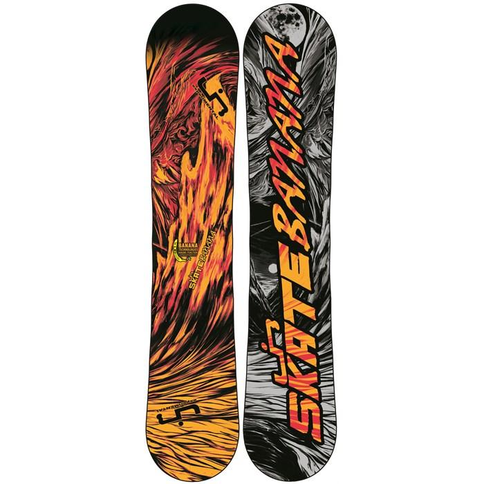 lib tech skate banana btx red orange wide snowboard 2013. Black Bedroom Furniture Sets. Home Design Ideas