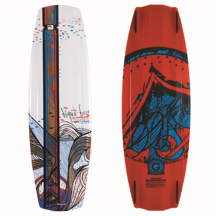 Liquid Force - Watson Hybrid Wakeboard - Blem 2012