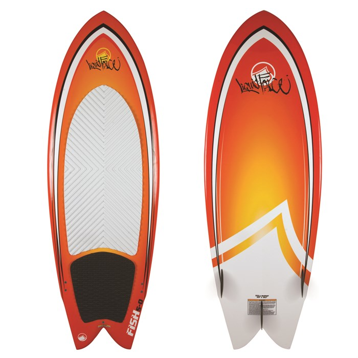 Liquid Force - Fish Wakesurf Board - Blem 2012