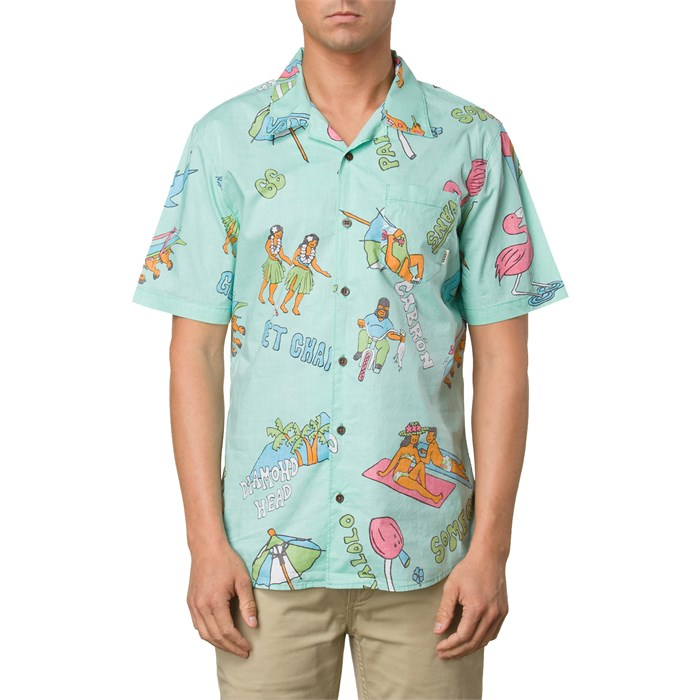 Vans - Casual Friday Aloha Short-Sleeve Button-Down Shirt