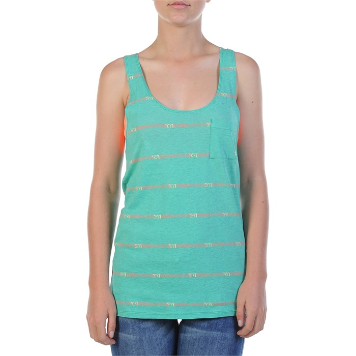 Volcom - To The Right Knot Back Tank Top - Women's