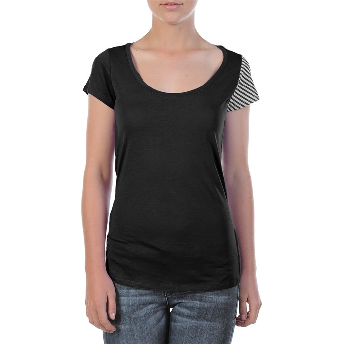 Volcom - Stone Only Tri-Back Scoop Neck Top - Women's