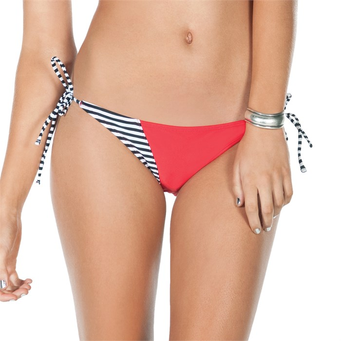 Volcom - Optical Tropical Tie Side Skimpy Bikini Bottoms - Women's