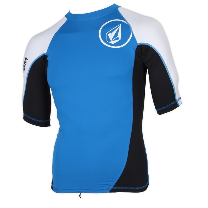 Volcom - Colorblock Short Sleeve Rashguard