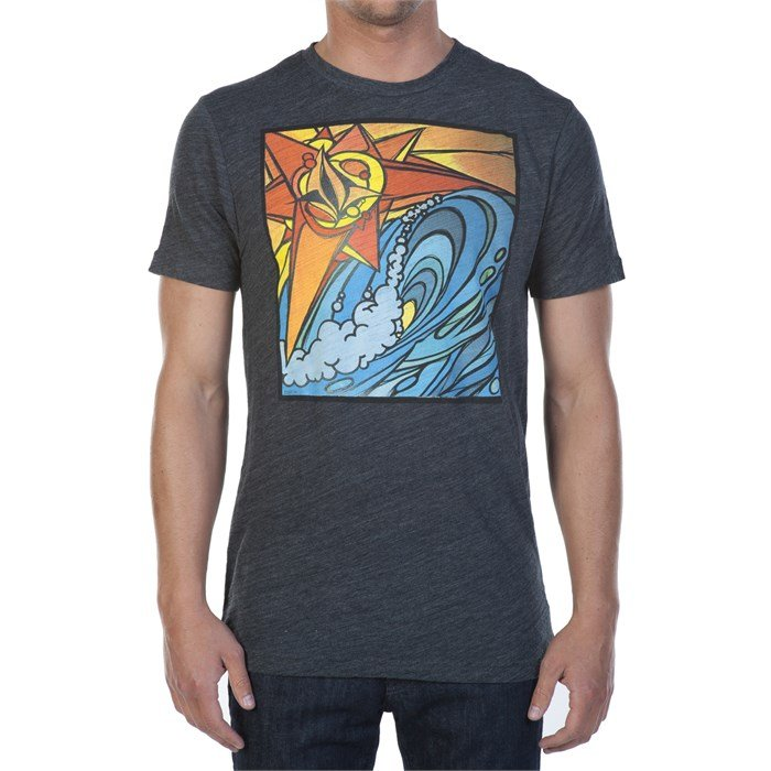 Volcom st barts mural t shirt evo outlet for Murals on the t shirt