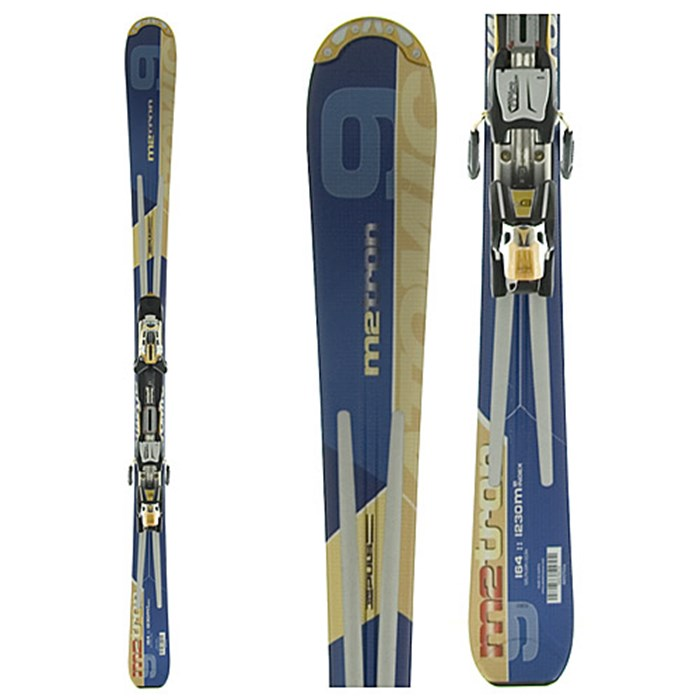 Atomic M: 9 Puls Ski + Neox 310 Bindings 2006
