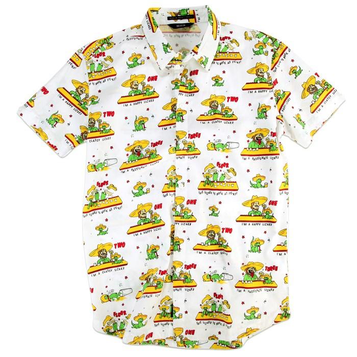 Kr3w - Smoke Short-Sleeve Button-Down Shirt
