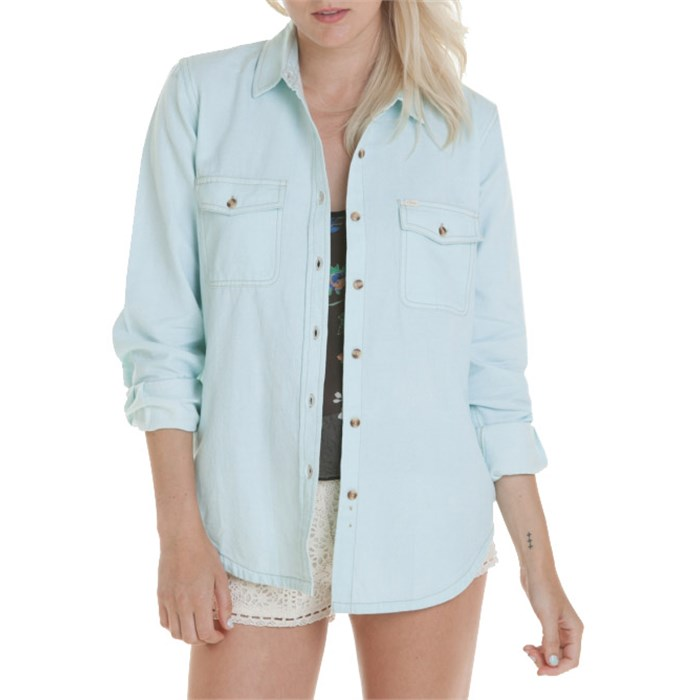 Obey Clothing - Rusted Button-Down Shirt - Women's