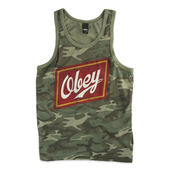 Obey Clothing - Malt Liquor Tank Top