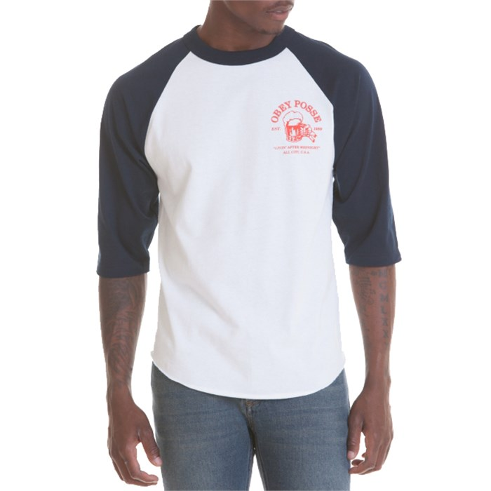 Obey Clothing - Livin' After Midnight Raglan T-Shirt