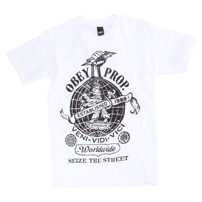 Obey Clothing - Globe Fist T-Shirt