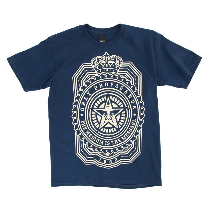Obey Clothing - Medium Is The Message T-Shirt