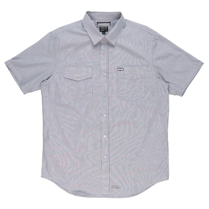 RVCA - Credence Short-Sleeve Button-Down Shirt
