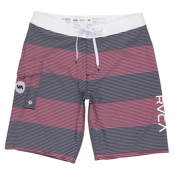 "RVCA - Civil Stripe 20"" Boardshorts"