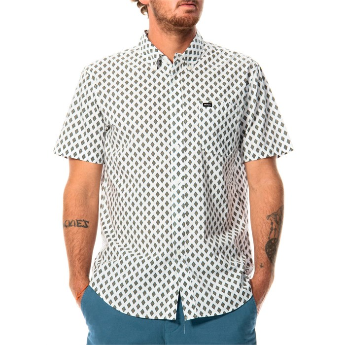 RVCA - Falling Short-Sleeve Button-Down Shirt