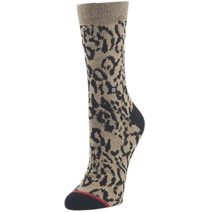 Stance - Cheetah Crew Socks - Women's