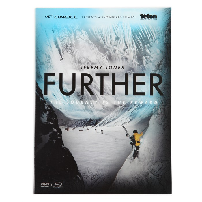 TGR - Jeremy Jones' Further DVD & Blu Ray