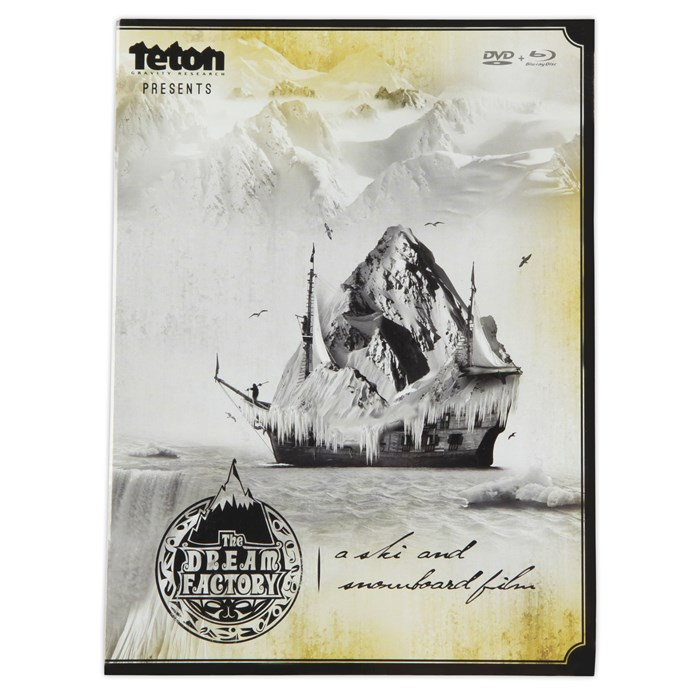 TGR - The Dream Factory DVD & Blu Ray