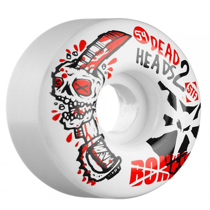 Bones - Sieben Dead Heads 2 STF Skateboard Wheels