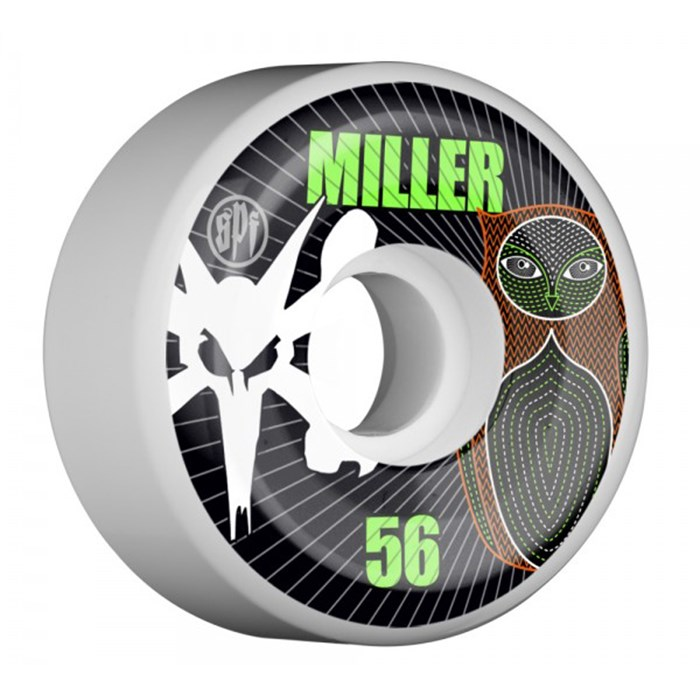 Bones - Miller Owl SF Skateboard Wheels