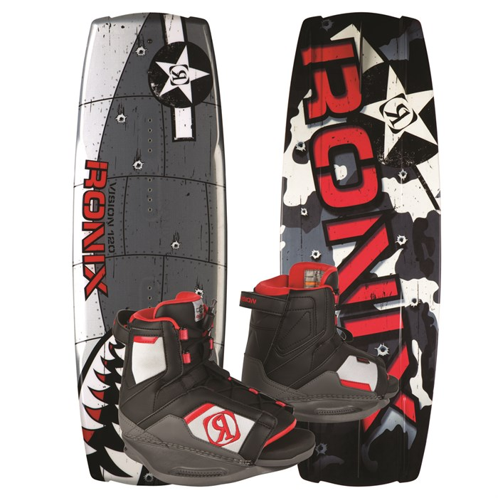 Ronix - Vision Wakeboard + Vision Bindings - Youth - Boy's 2013
