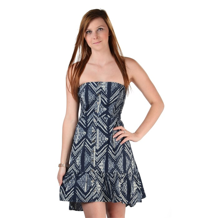 Quiksilver - Ocean Woodblock Dress - Women's
