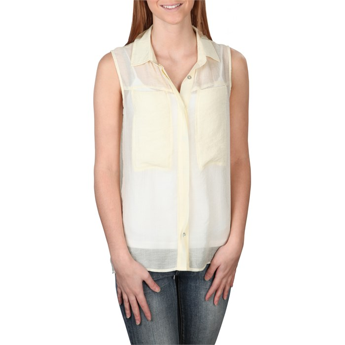 Quiksilver - Crusher Sleeveless Button-Up Shirt - Women's