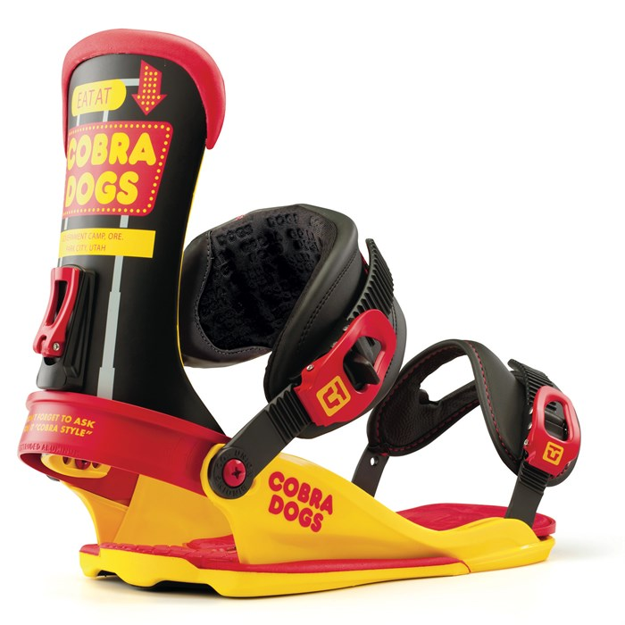 Union - Cobra Dogs Snowboard Bindings 2013