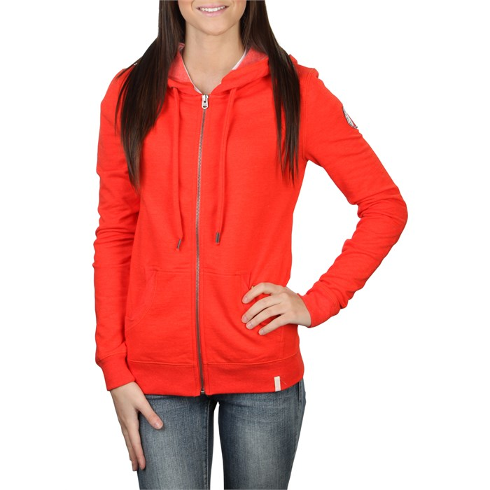 Quiksilver - For The Beach Original Zip Hoodie - Women's