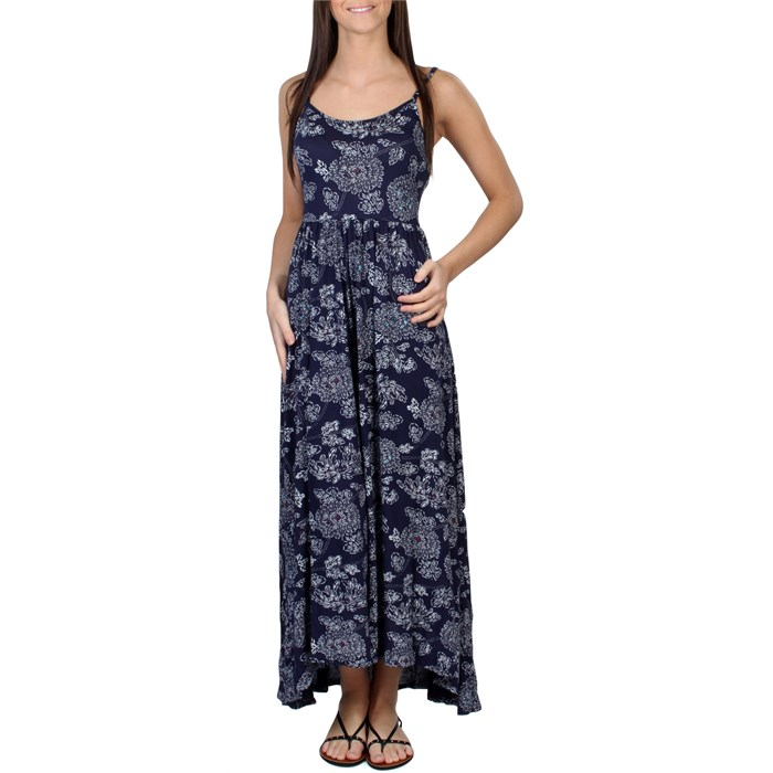Quiksilver - Blue Skies Floral Maxi Dress - Women's