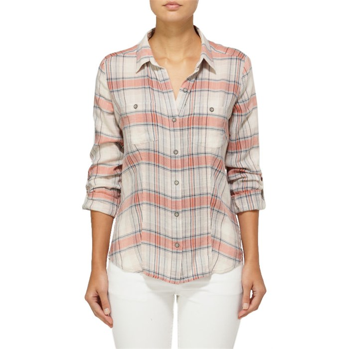Quiksilver - Sunny Day Plaid Button Down Shirt - Women's