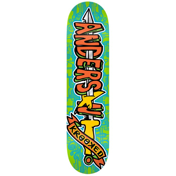Krooked - Swordid Anderson Skateboard Deck