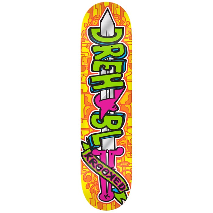 Krooked - Swordid Drehobl Skateboard Deck