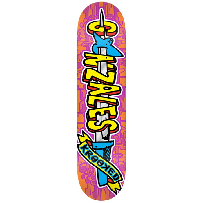 Krooked - Swordid Gonz Skateboard Deck