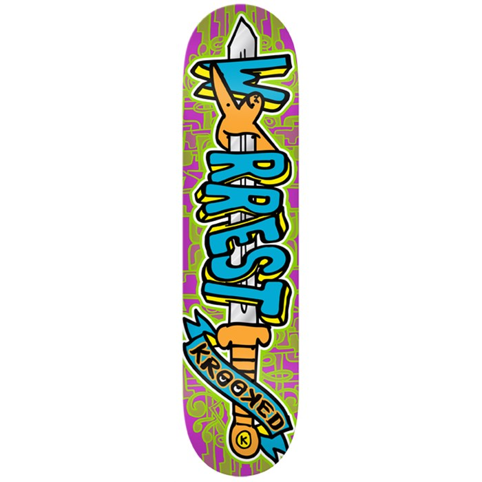 Krooked - Swordid Worrest Skateboard Deck