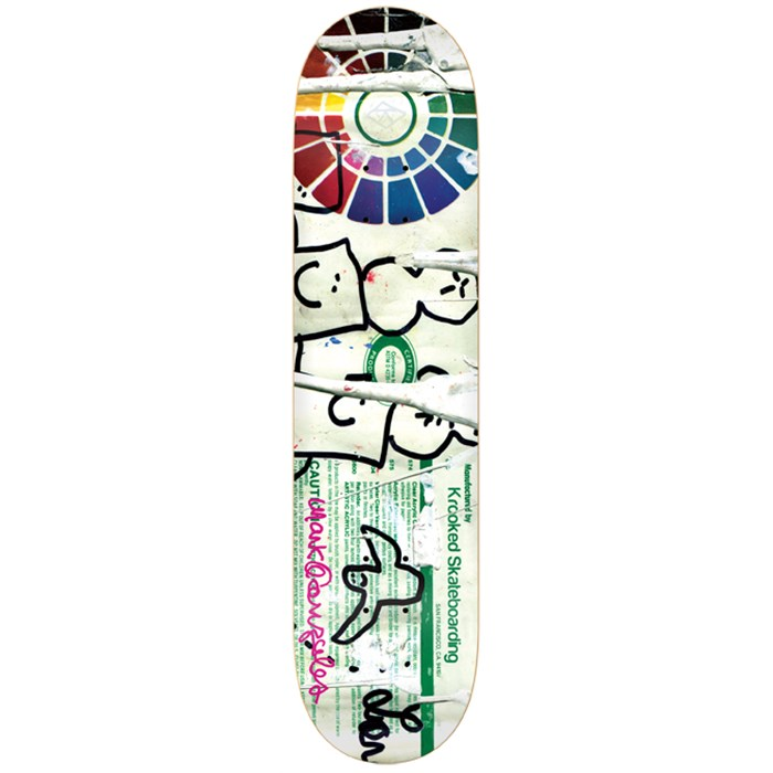 Krooked - Gonz Lead Free Skateboard Deck