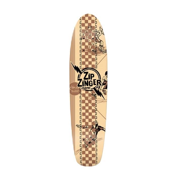 Krooked - Zip Zinger Nano 2 Kool 4 Skool Skateboard Deck