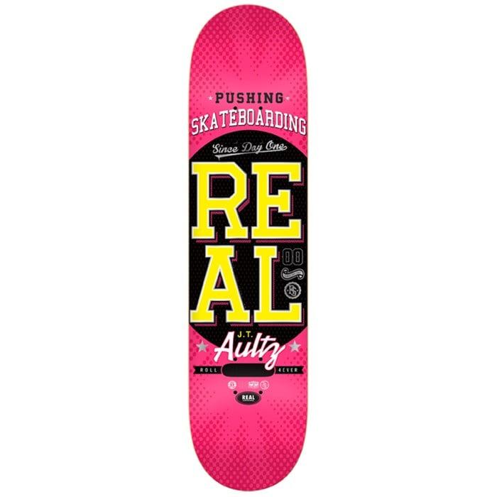 Real - Pushing Skateboarding Aultz Skateboard Deck