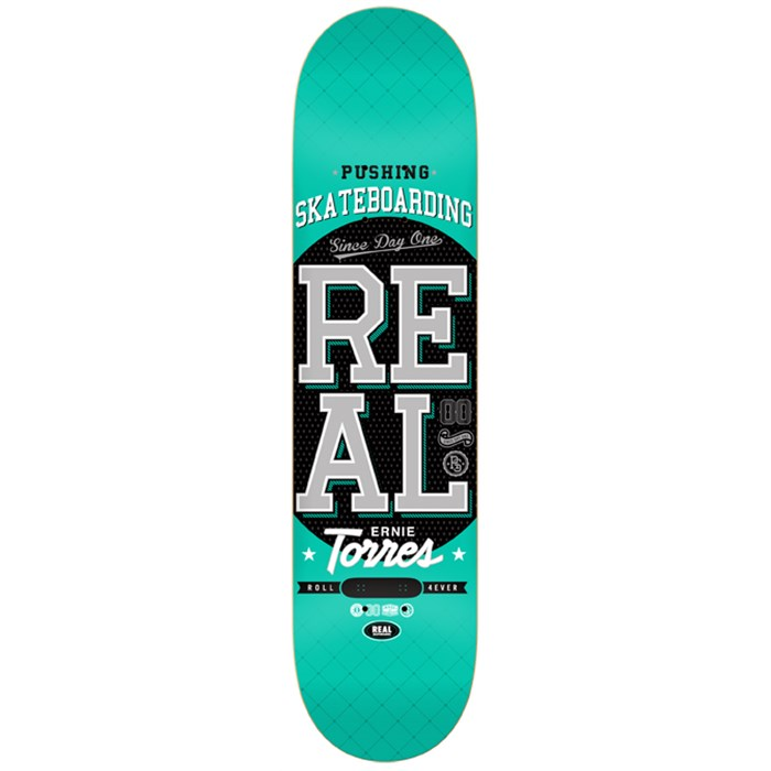 Real - Pushing Skateboarding Torres Skateboard Deck